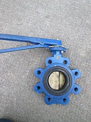 Butterfly Valve 115 MM dia  Brand new condition - China lug type GGG40 body