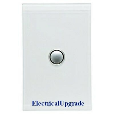 Clipsal Switches Saturn offer One Gang Led Push button 4061PBL  in all Colours