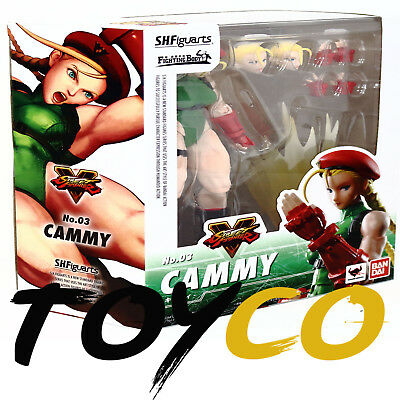 "NEW STOCK S.H. Figuarts Street Fighter V 5 ""Cammy"" Bandai Tamashii Action Figure"