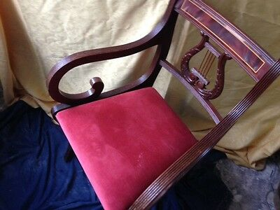 8 X Mahogany Antique Chairs. PRICE REDUCED