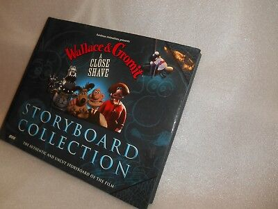 Wallace and Gromit A Close Shave Hard Back Book Storyboard Collection rrp £16.99