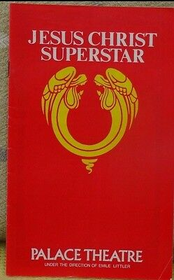 Jesus Christ Superstar - 1976 Theatre Programme for Palace Theatre.