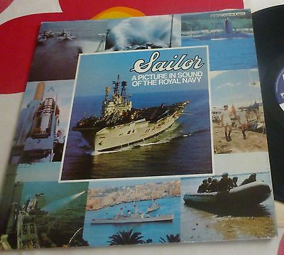 Sailor: A Picture In Sound Of The Royal Navy BBC Records REH 318 Vinyl LP