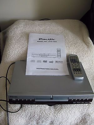 Pacific DVD Player, Model DVD1002