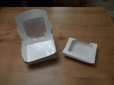 MASSIVE CLEARANCE SALE - Approx 300 Catering Boxes - Cake/Wrap/Retail Food Shops