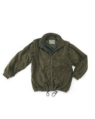Fleece Jacket Green Detachable Sleeves Lined OUTDOOR/HUNTING EQUIPMENT