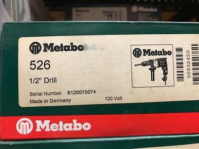 """Metabo 1/2"""" Drill 526"""