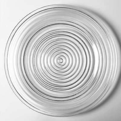 Anchor Hocking MANHATTAN CLEAR Dinner Plate 5992