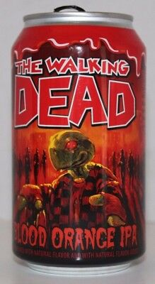 The Walking Dead Blood Orange IPA by Terrapin Beer Co. Athens, GA Empty Can