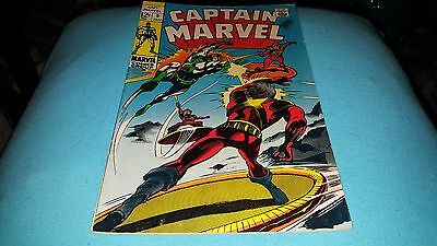 Captain Marvel #9 (Jan 1969, Marvel) VF/VF+