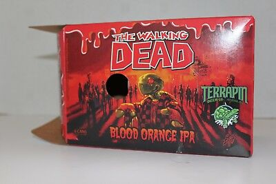 The Walking Dead Blood Orange IPA by Terrapin Beer Co. Athens, GA Empty Case