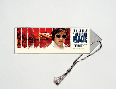 American Made - Tom Cruise - Domhnall Gleeson - Movie Poster Bookmark #2