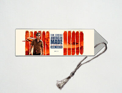 American Made - Tom Cruise - Domhnall Gleeson - Movie Poster Bookmark #3