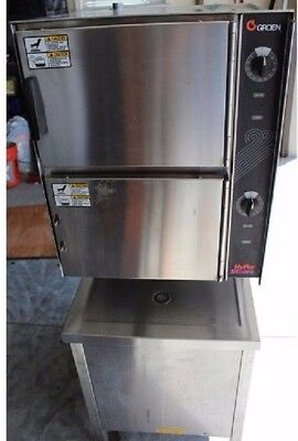 Convection Steamer (Groen Hy-6E) Used, Clean, Operational