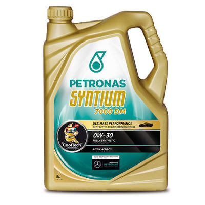 5 Litres Petronas Syntium 7000 DM 0W-30 Fully Synthetic Car Engine Oil 5L
