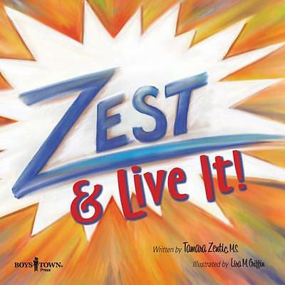 NEW Zest & Live It! BOOK (Paperback) Free P&H