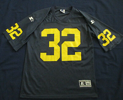 Mens Starter Michigan Wolverines Vintage NCAA Football Jersey Sz 46