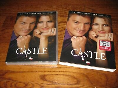 Castle: The Complete Eighth Season 8 (DVD,2016 )Brand New; Sealed Fast Shipping