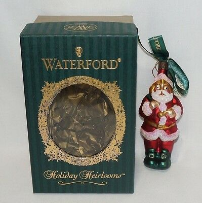 Waterford Santas Warm Wishes Christmas Ornament Boxed