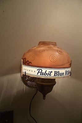 Vintage RARE-1968 PABST BLUE RIBBON Beer Sign With Motion & Lights - Wall Mount