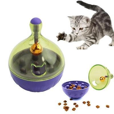 Dog Cat Puppy Tumbler Leakage Food Dispenser Chew Funny Interactive Pet Play Toy
