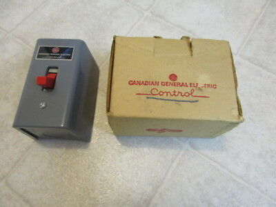 Canadian General Electric control # CR1060DOA new old stock
