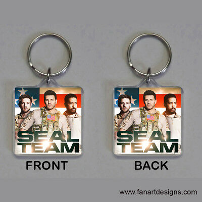 Seal Team - David Boreanaz - Max Thieriot - A J Buckley -  Photo Keychain #2