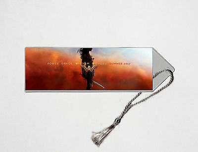 Wonder Woman - Gal Gadot - Chris Pine - Movie Poster Bookmark #6