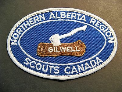 Boy Scouts Canada Northern Alberta Region Gilwell  Patch Cubs