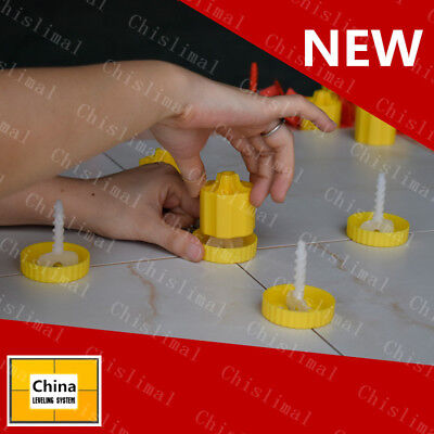 50pcs Tile Flat Leveling System Garden Path Floor Wall Ceramic Leveling Tools