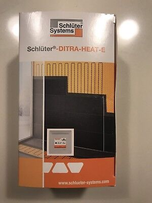 Schluter Ditra Heat E R Thermostat DH E RT2 / BW