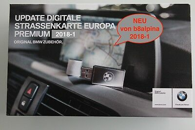 ORIGINAL - BMW NAVI UPDATE PREMIUM - WEST-Europa  2017-2 / USB-Version