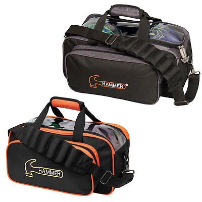 Bowling Ball Bag Hammer Premium Double Tote Bag, for Two New