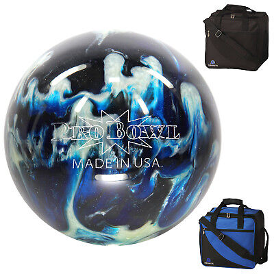 bowling ball ebonite pro bowl and Basic Bag, Bag with Room for Bowling Shoes