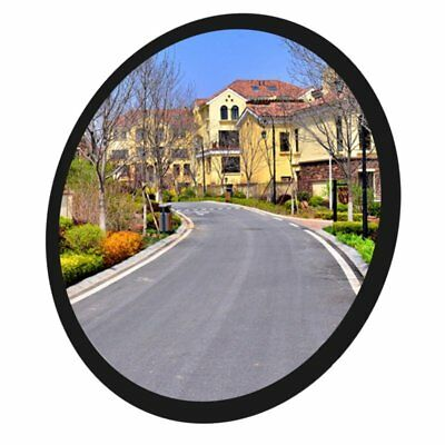 30cm Wide Angle Security Convex Road Mirror Traffic Driveway Safety【AU】