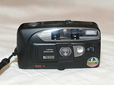 Ricoh RW-1 AF 35mm Camera With 34mm Lens in Excellent Condition, 1515
