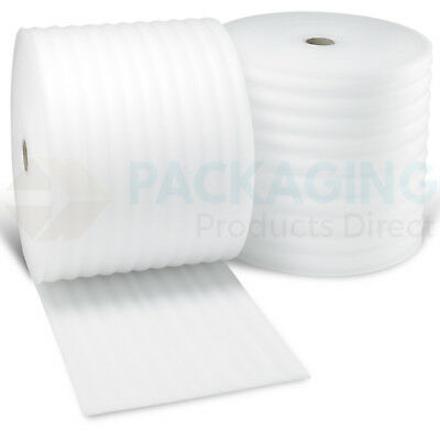 10 20 50 100 200 m 500mm/750mm FOAM Rolls of Wrap Underlay Packing Carpet