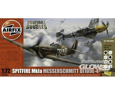 Airfix A50135 Dogfight Double Spitfire 1ABF 109E in 1:72