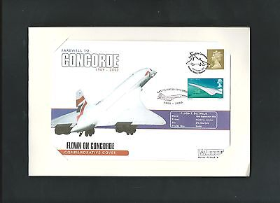 Farewell to Concorde 1969-2003 Ltd. Ed. Stamps