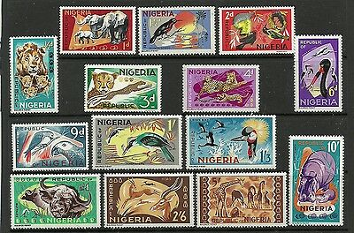 Stamps from Nigeria.....Mounted Mint set.