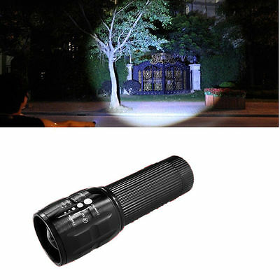 Mini Alloy Telescope XM-L T6 led Flashlight Lamp Linterna AAA 5000LM Antorcha
