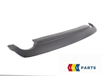 New Genuine Mercedes Benz Mb W204 C Class Amg Rear Bumper Diffuser Black