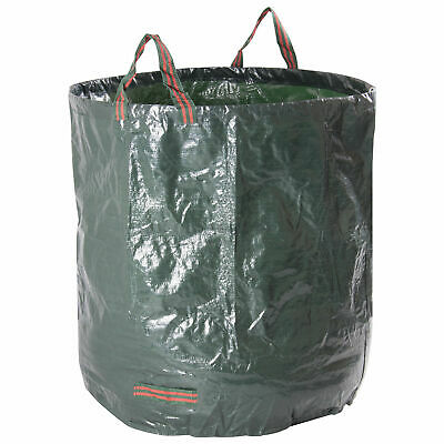 Woodside Garden Leaf/Weed Waste Rubbish Bag Grass Cutting Refuse Sack Tidy