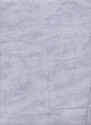 """25 count Zweigart Lugana Evenweave Fabric  56 x 69cms """"Vintage Grey"""" singles"""