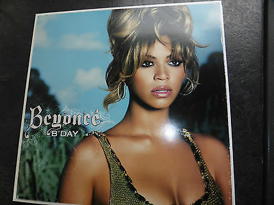 "Beyonce New Double Lp Vinyl- "" B'day "" - Sony Columbia 82876881321"