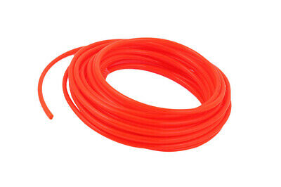 8mm OD x 5mm Inner Dia10Meters/33Ft Long Red PU Pneumatic Air Tubing Pipe Hose