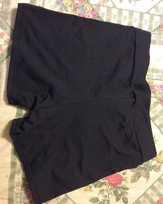 Motionwear Dance shorts black adult small