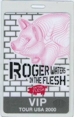 Roger WATERS 2000 Laminated Backstage Pass PINK FLOYD