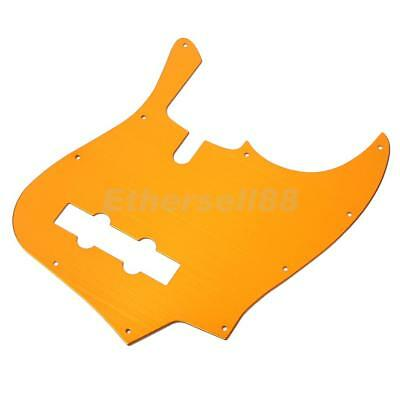 10 Holes JB Bass Pickguard Pick Guard Scratch Plate for 4 String Jazz Bass
