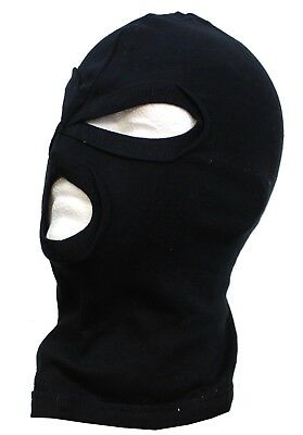 BRITISH ARMY SPECIAL FORCES STYLE BALACLAVA in BLACK